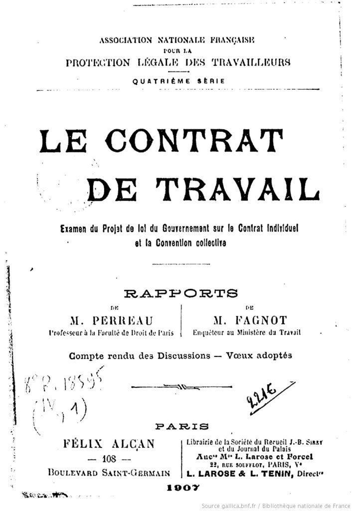 20d9b6fc951 contrat de travail et accord collectif - Avocat droit du travail